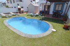 Villa en Corralejo - Villa Blue, Vista mar, Piscina privada, Wifi, ideal Familias