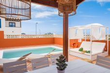 Villa in Corralejo - Villa Atlantic View, wlan, Meerblick, pool, ideal Familien