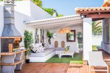Villa in Corralejo - Villa deluxe Bonita I beheizbarer Pool- WIFI- BBQ